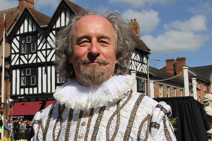 莎士比亞的生日慶祝