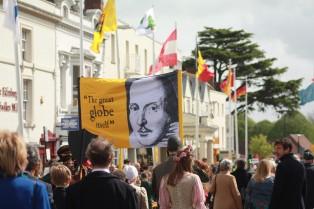 Shakespeare's Birthday Parade 2014