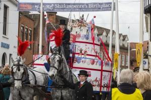 Shakespeare's 451st Birthday Cake 2015